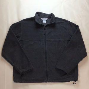 Columbia men's fleece jacket full zip size large